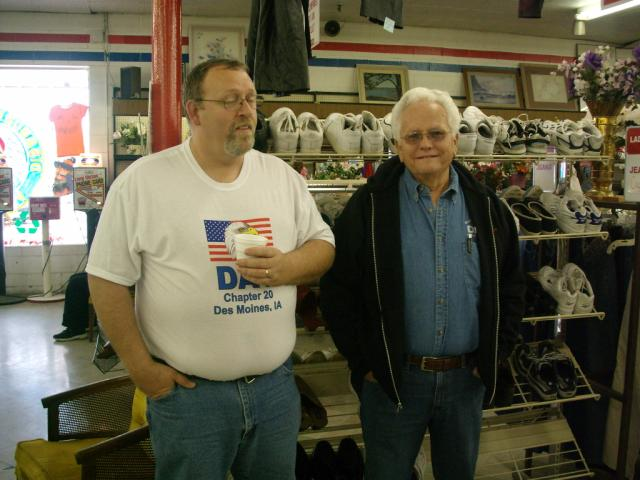 Jim Balmer and Dave Bolton