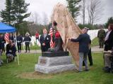 Dedication of Battlefield Cross at the Maine Veterans Cemetery in Augusta