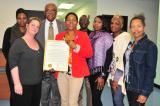 Cmdr Jackson attended event honoring the work of S.O.F.I.A.