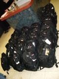 The Backpacks were loaded with goods by Founder/CEO Mr. Johnson and the volunteers and donated by a California based non-profit organization Soldiers Angels.