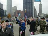 Getting ready to kick off the Parade.