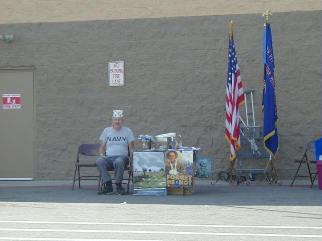 DAV, Greater Pittsburgh Chapter No.8's Annual Forget-Me-Not Drive for Hospitalized Veterans.  Great Job Gary!