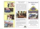 Information on Patriot Guard. they will set upmat church or chapel , escort the folks to cemetery and set up at cemetery all free for active duty and retired military. They do a great job.