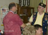 Roy Johnson, not a DAV member was awarded by Chapter Commander Johnson for his support of Chapter events over many years.