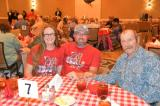 From left: DAV Senior Vice Commander Kayla Jones, Auxiliary Commander William Jones, and DAV Commander Bobby Harris
