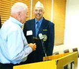 National Adjutant Art Wilson swore in Richard Fournier as the  new Commander for the DAV Department of Maine on May 6,  2012.  The Convention was held in Bangor , Maine