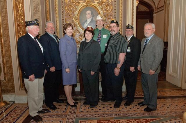 Attendees: Russ Manchester, Ray Boucher, Sen. Shaheen, Denise DeBlois, Commander Ray Colby, Will Biron, Ben Saxon and ry