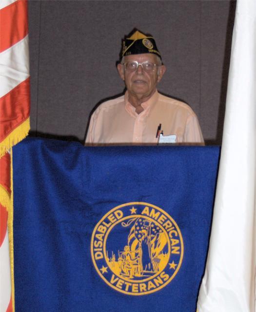 Past Department Commander Ed Mazza