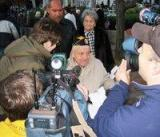 Mr. Corrente interview by the media radio, newspaper and TV