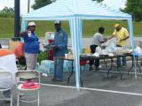 DAV Chapter 1 and DAVA Unit 21 served food to veterans waiting to be seen by the NSO's